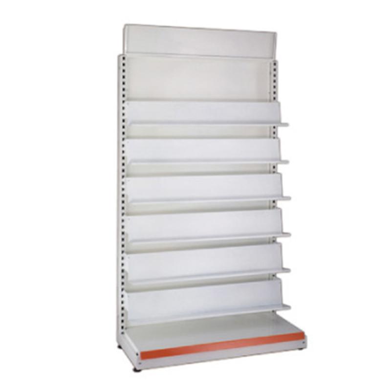 E-003 書架+倒梯型看板「背鐵背板」